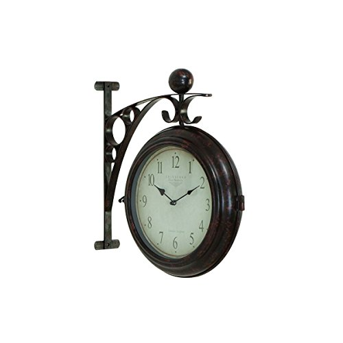 Antique 2-Sided Outdoor Clock