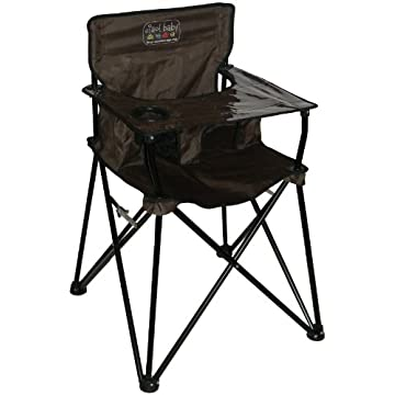 ciao! baby Portable Highchair, Chocolate