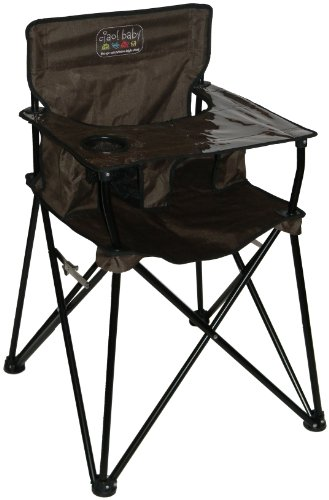 Ciao! Baby Portable Highchair, Chocolate front-637093