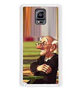 ifasho Old man playing chess animated design Back Case Cover for Samsung Galaxy Note 3