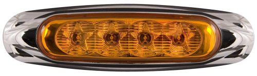 10X Optronics Mcl19Ab Amber Led Truck Trailer Marker Clearance Lights