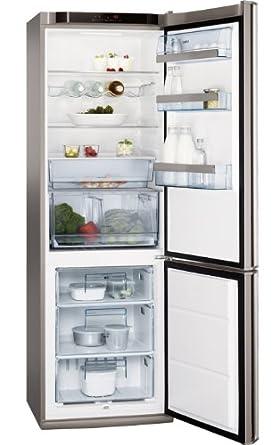 AEG S83600CSM1 Kühl-Gefrier-Kombination / A+++ / Kühlen: 245 L / Gefrieren: 90 L / Volledelstahl mit Antifinger Edelstahlbeschichtung