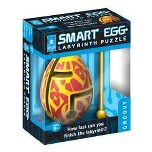 GROOVY 1-Layer Smart Egg Labyrinth Puzzle