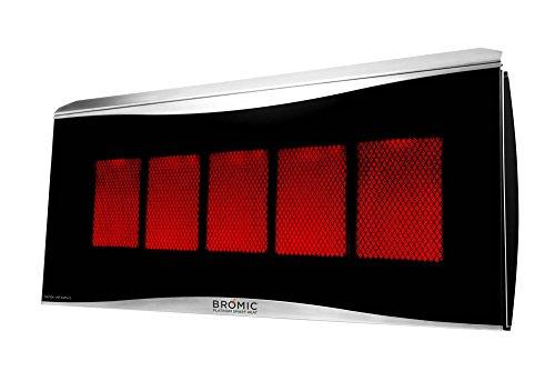 Bromic-Heating-Platinum-500-Smart-Heat-Gas-5-Burner-Radiant-Infrared-Patio-Heater-Natural-Gas-39800-BTU