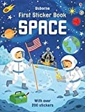 img - for Space (Usborne First Sticker Book) book / textbook / text book
