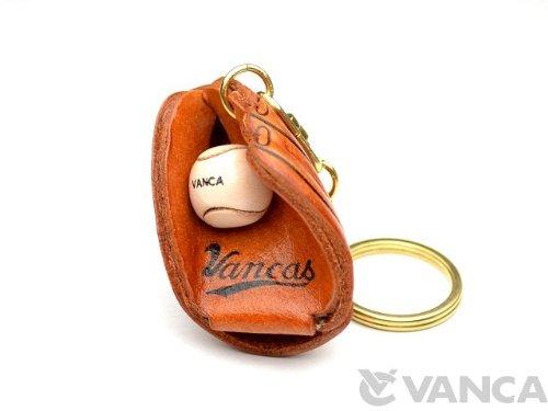 革物語 KH キーホルダー 野球グローブ 【VANCA】【日本製、新品、職人のハンドメイド】
