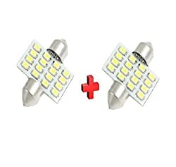 EASY4BUY 2X16 SMD LED Interior Car Roof Light, Dome Light for - Maruti Alto 800