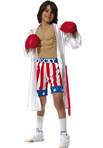 Kid's Rocky Movie Costume (Size:Large 12-14)