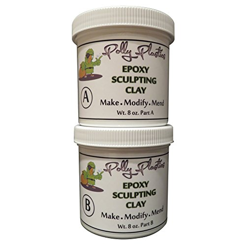 Epoxy Clay Sculpting : Polly plastics epoxy putty modeling sculpting clay lb