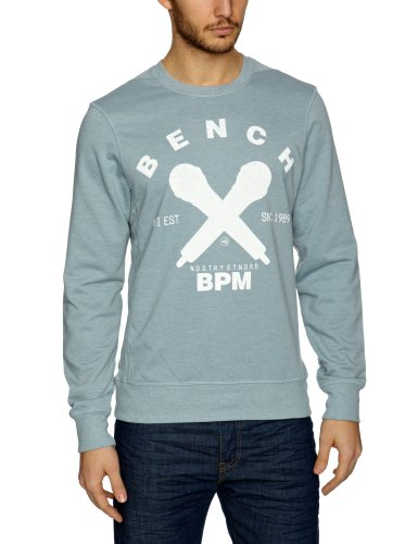 Bench Havers Men's Jumper Grey XX-Large