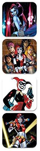GB Eye LTD, DC Comics, Harley Quinn, Set di 4 sottobicchieri