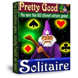 Pretty Good Solitaire (Windows Software) - Play 770 Different Solitaire Card Games, From Classic Games Like Klondike, Freecell, and Spider to original adaptations like Demons and Thieves and Double FreeCell.