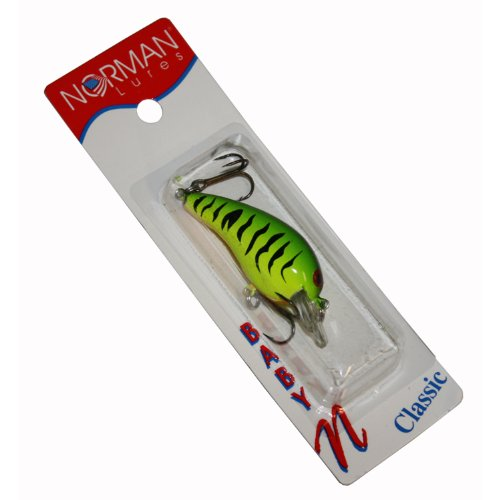 Review Norman Baby N 1/4 Ounce Crankbait, FireTiger  Best Offer