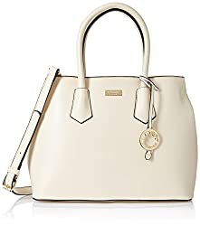 Cathy London Women's Handbag, Colour- Beige, Material- Synthetic Leather