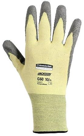 Jackson Safety G60 Polyurethane Coated Level 2 Glove, Cut Resistant, X-Large (Case of 12 Pairs)