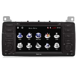 koolertron-autoradio DVD pour MG ZT & Rover 75 DVD GPS système de navigation avec écran tactile
