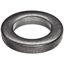 18-8 Stainless Steel Round Shim, Unpolished (Mill) Finish, Annealed - Full Hard Temper, Standard Tolerance, Inch, Meets ASTM A666 Specifications