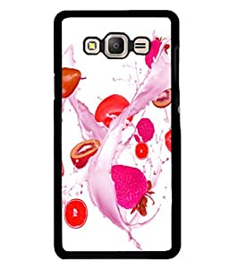 printtech Fruits Splash Back Case Cover for Samsung Galaxy On7 Pro :: Samsung Galaxy On7