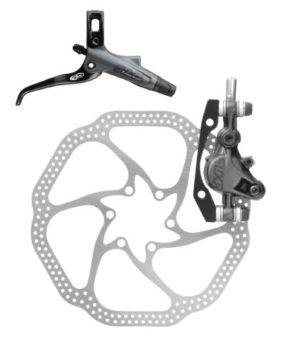 Buy Low Price Avid Elixir 7 Rear Disc Brake with Carbon Right Lever (160mm HS1 Rotor, 1600mm Hose)- Storm Grey (BR4769-005016173070)