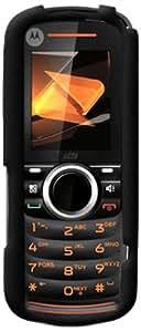 Decoro Silmoti296Bk Silicone Case for Motorola I296 - Retail Packaging - Black