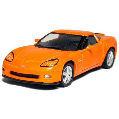 "5"" 2007 Corvette Z06 1:36 Scale (Orange)"