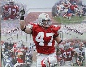 Signed Hawk Photo - AJ 16x20 Collage - Autographed College Photos