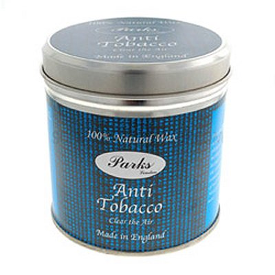 Anti Tobacco - Scented Candle In The Tin - Parks Candles