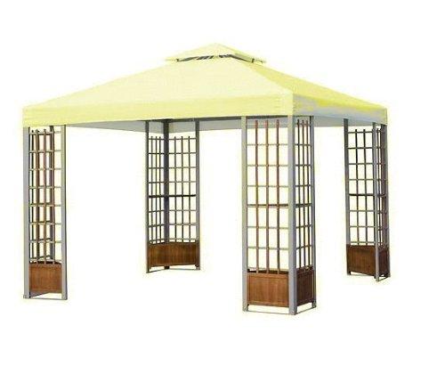 Harrington Outdoor Garden Deluxe Gazebo Replacement Canopy - Yellow Cream
