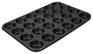 Thunder Group Excellant Nonstick Muffin/ Cup Cake Pan, 2.75-Inch by 1-Inch , 24 Cups