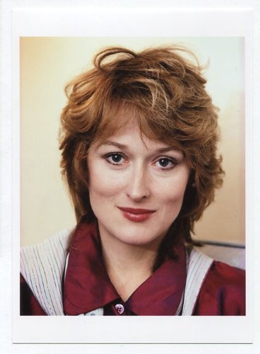 メリル・ストリープ 写真(中) Portrait Photograph #1