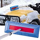 Sno Brum Original Snow Removal Tool with Telescoping Handle