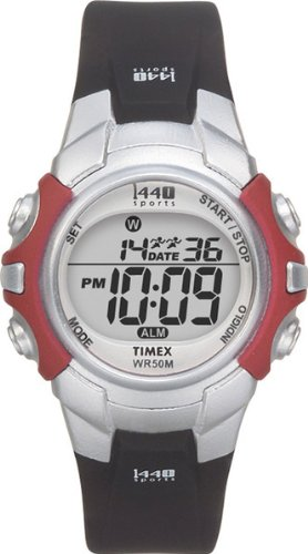 Timex Unisex T5G841 1440 Sports Digital Resin Strap Watch