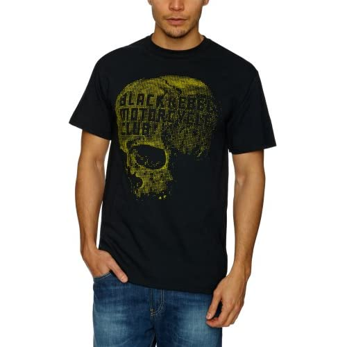 Black Rebel Motorcycle   T Shirt Skull (in S) Bekleidung