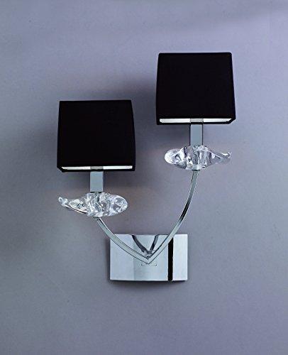 mantra-aplique-de-pared-2-luces-coleccion-akira-tela-negra-y-metal-cromo