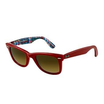Ray-Ban Men,Women 1062728119 Red/Brown Sunglasses 50mm