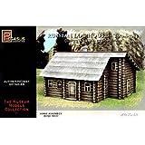 Pegasus Hobbies 1/72 Russian 2-Story Log House PGH7704