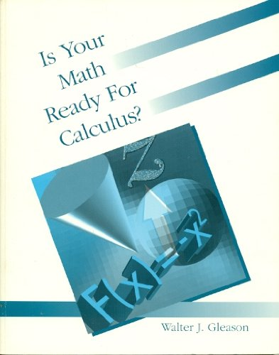 Is Your Math Ready for Calculus?