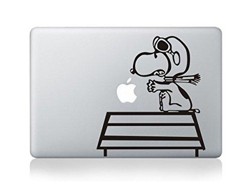 スヌーピー snoopy アートステッカー Macbookpro/air13インチ対応 PCスキンシール 【クリーナー付き】 並行輸入品 C200