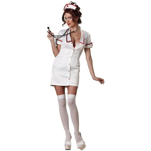 Temperature Rising Sexy Women's Costume Adult Halloween Outfit - Size XS, Dress Size 0-2
