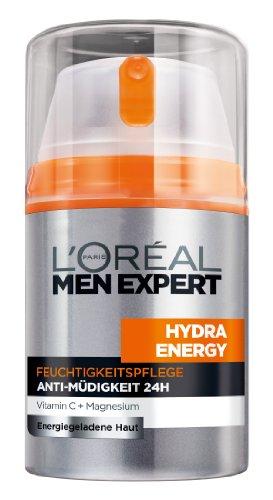 L'Oréal Paris Men Expert Hydra Energy Feuchtigkeitspflege Anti-Müdigkeit, 50ml