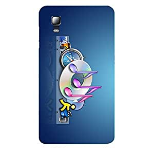 Zeerow 709I Mobile Back Cover for Micromax A102