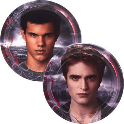 Twilight Eclipse Small Paper Plates (8ct) (Twilight Saga Party Supplies compare prices)