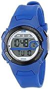 Timex Womens T5K596 1440 Sports Digital Mid-Size Blue Resin Watch
