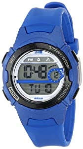 Timex Women's T5K596 1440 Sports Digital Mid-Size Blue Resin Watch