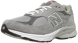 New Balance Men\'s M990GL3 Running Shoe,Grey,9.5 D US