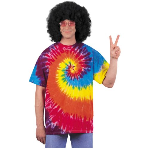 Tie Dye Shirt Costume - Standard - Chest Size 38-42