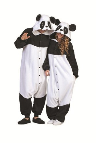 Adult Panda Mascot Bear Animal Halloween Costume