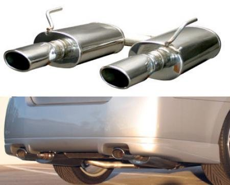 Stillen 504395 Stainless Steel Rear Section Exhaust System - 04-08 Maxima front-979704