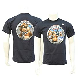 Fox Sports ''Digger And Friends'' Youth T-shirt - Navy