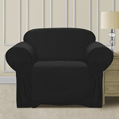 clear-out-sale-elegant-and-comfortable-pr-bedding-microsuede-sofa-furniture-slipcover-black-chair